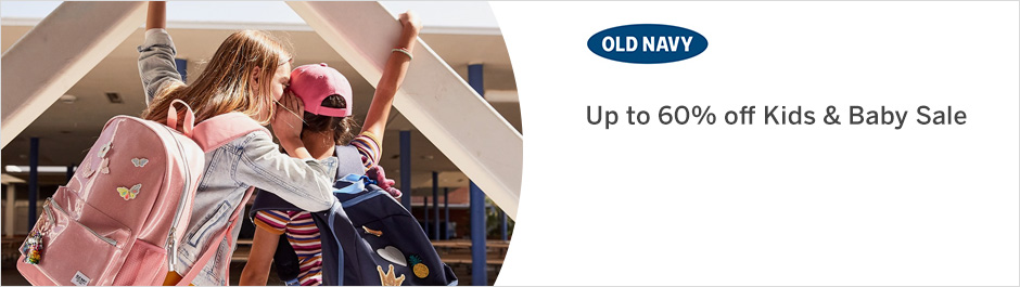 Save at Old Navy with Coupons and Cash Back from Ebates!