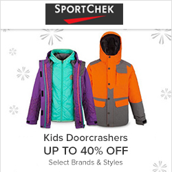 Earn 6.0% Cash Back from Ebates.ca with Sport Chek Canada Coupons, Promo Codes