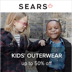 Earn up to 4.0% Cash Back from Ebates.ca with Sears Canada Coupons, Promo Codes
