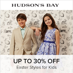 Earn 5.0% Cash Back from Ebates.ca with Hudson's Bay Coupons, Promo Codes
