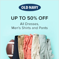 Earn 2.0% Cash Back from Ebates.ca with Old Navy Canada Coupons, Promo Codes