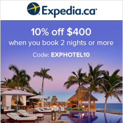 Earn up to 8.0% Cash Back from Ebates.ca with Expedia.ca Coupons, Promo Codes