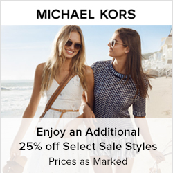 Earn 8.0% Cash Back from Ebates.ca with Michael Kors Coupons, Promo Codes