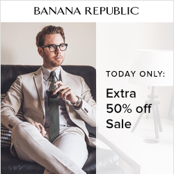 Earn 4.0% Cash Back from Ebates.ca with Banana Republic Coupons, Promo Codes