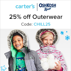 Earn 3.0% Cash Back from Ebates.ca with Carter's OshKosh B'gosh Canada Coupons, Promo Codes