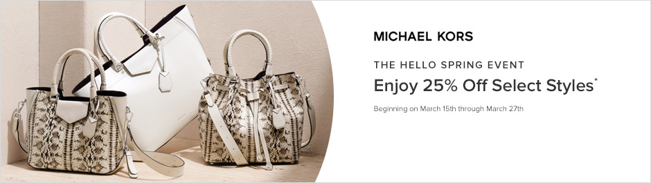 Coupons promo codes and cash back savings ebates canada save at michael kors with coupons and cash back from ebates fandeluxe Images