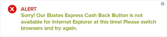 ebates cash back time